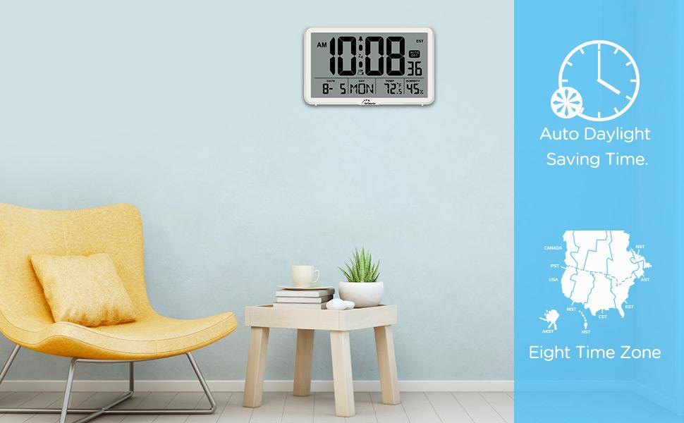 wall clocks battery operated