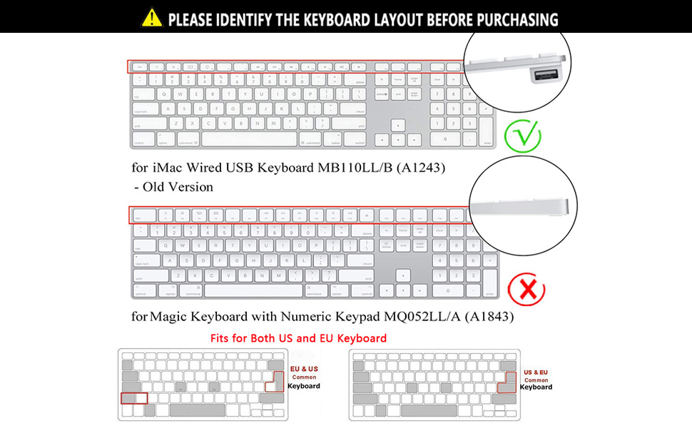 keyboard cover  a1243