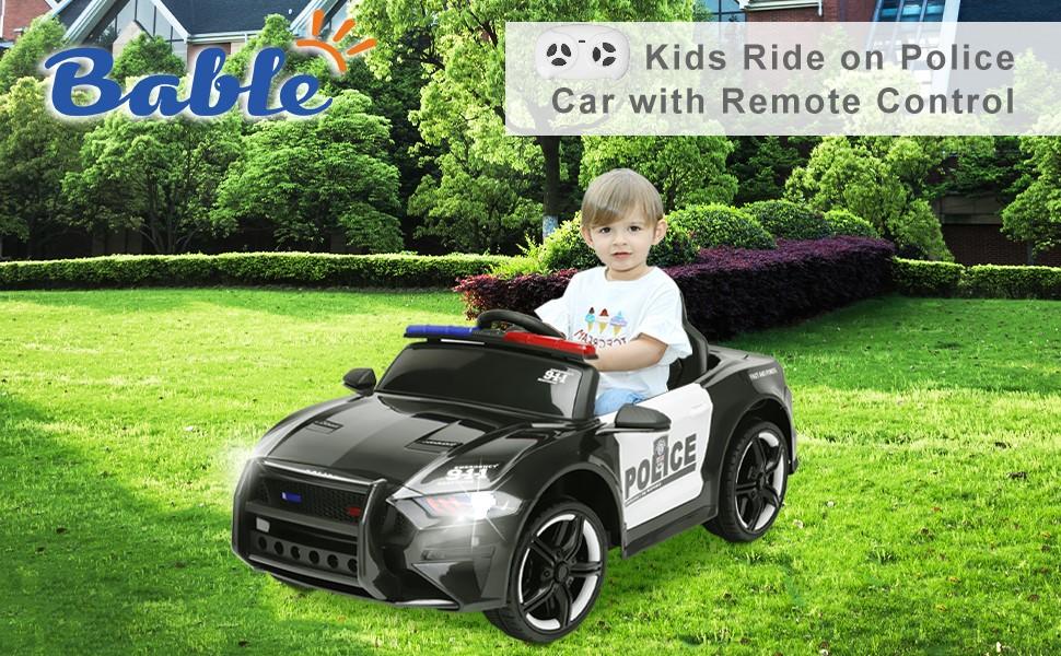 Kid ride on car