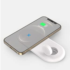 iphone and apple watch wireless charging station