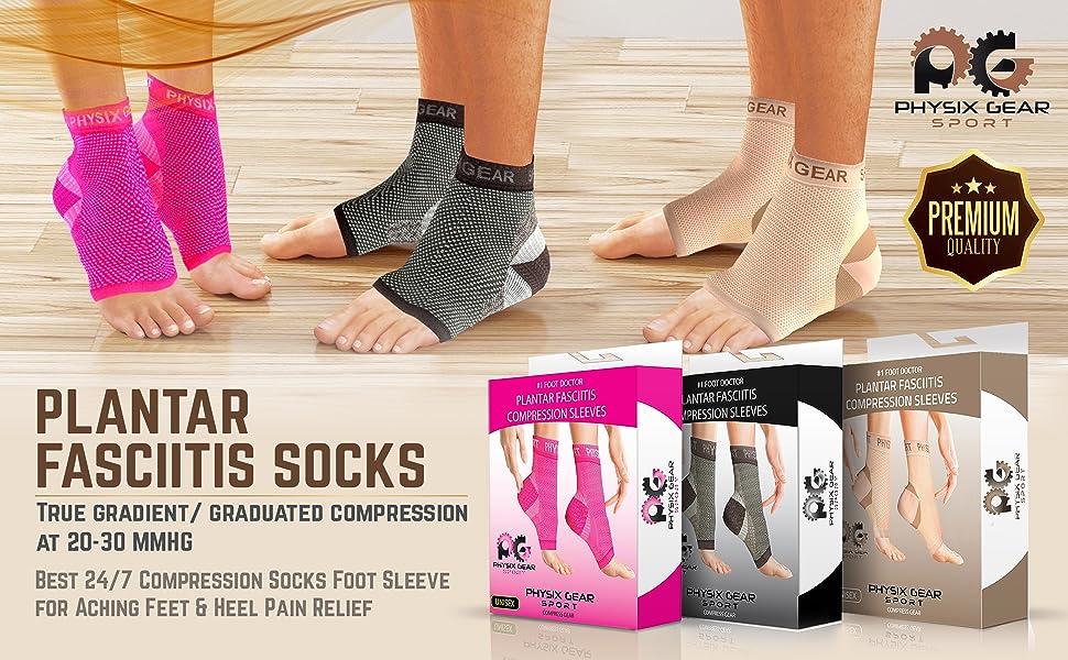 Plantar socks