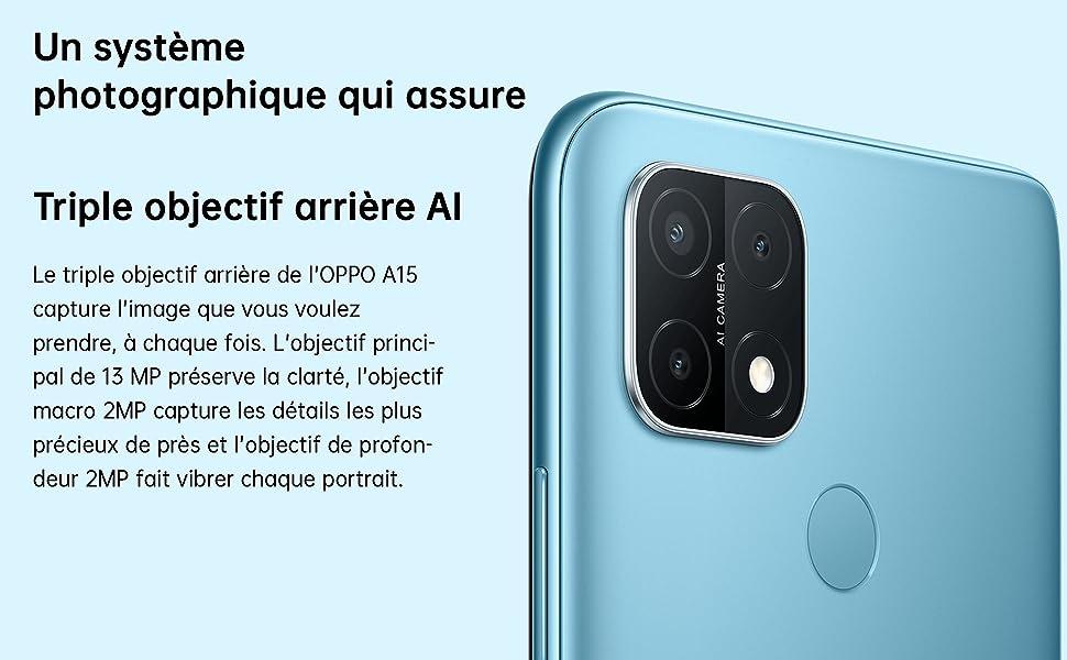 Triple Caméra AI