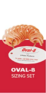 oval-eight sizing set