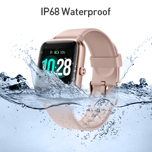 activity tracker heart rate monitor waterproof