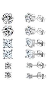 stud earrings,earrings for women,earrings for men,cubic zirconia earrings,men earrings,women earring