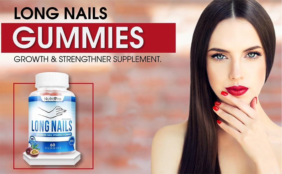 long nails gummies
