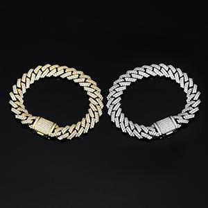 iced out cuban bracelet for men
