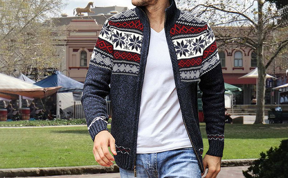 Men's Cardigan Sweaters