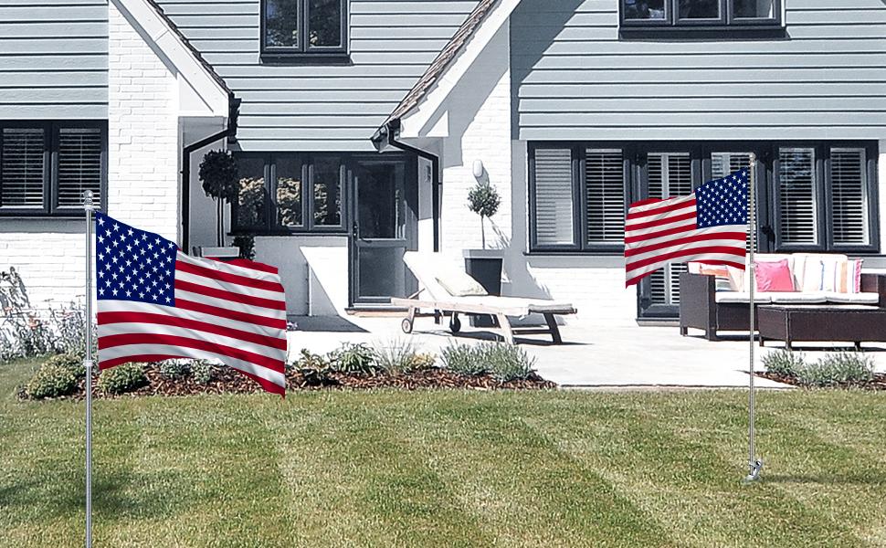 flag pole for house