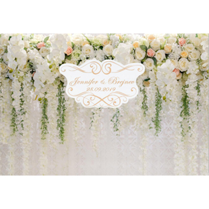 OERJU 15x10ft Vintage Bricks House Backdrop Spring Floral Wedding Ceremony Photography Background Bridal Shower Cake Table Banners Kids Adults Artistic Portrait Photo Props YouTube Video Shoot Wall