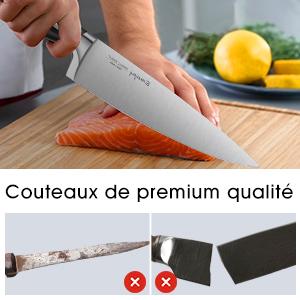 set couteaux cuisine