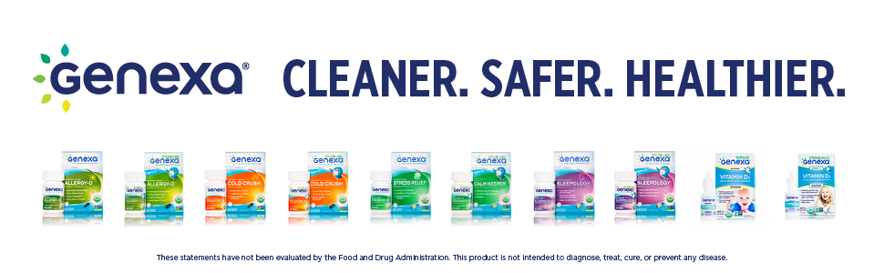 Genexa Medicines Cleaner Safer Healthier