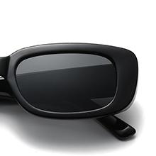 rectangle frame sun glasses
