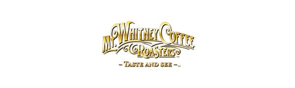 Mt. Whitney Coffee Logo