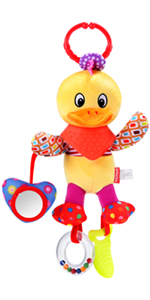 Baby Rattle Teether Hanging Toy