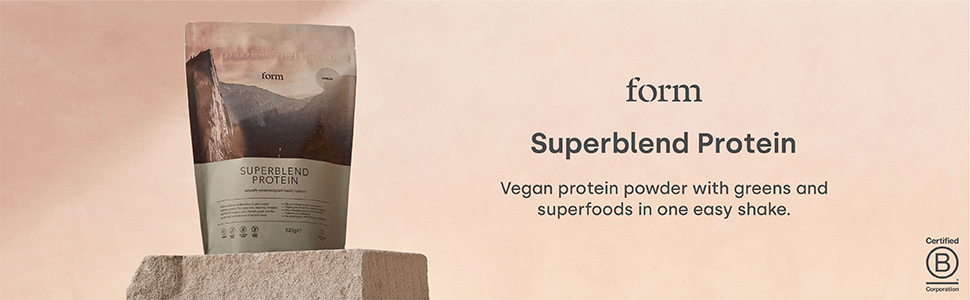 Form Superblend protein