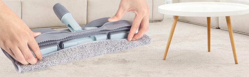 wet microfiber mop wide microfiber mop