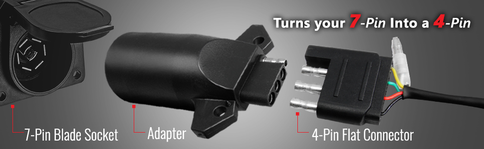 OPT7 7 way to 4 way adapter