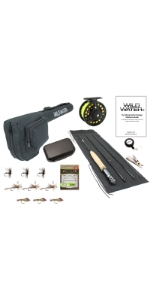 wild water fly fishing, 7' 3/4 fly fishing package, 3 wt rod, 4 wt rod, 3 weight rod, 4 weight rod