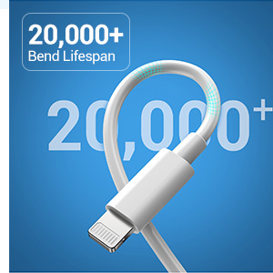flexible usb c to lightning cable