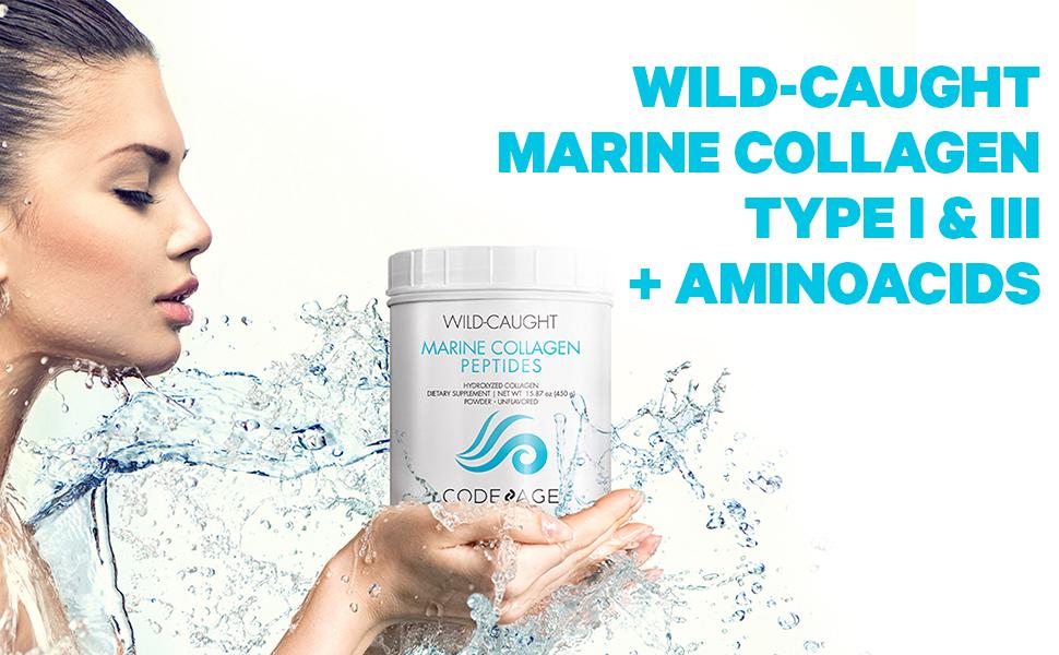 Codeage - Marine Collagen Organic