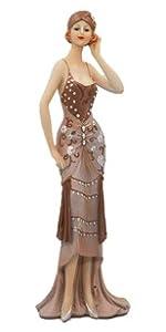 Lady in Sparkle Dress