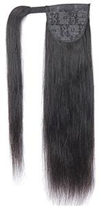 wrap ponytail hair