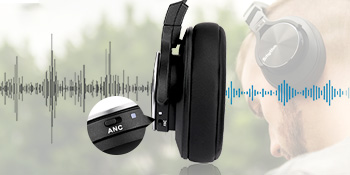Srhythm NC75 Active Noise Cancelling Headphones