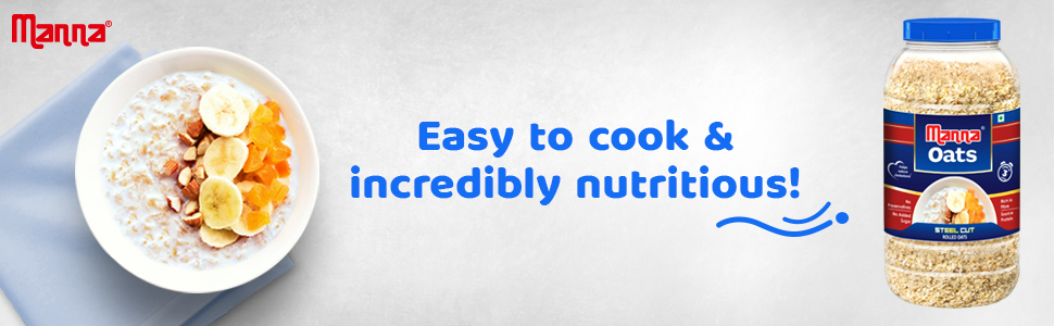 Manna Steel Cut Rolled Oats are easy to cook and incredibly nutritious