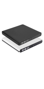 usb 3.0 external cd dvd drive burner with power supply cable