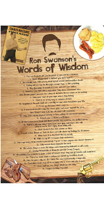 words of wisdom poster