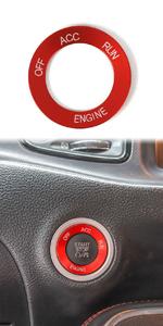Voodonala Engine Start Trim for 2010-2020 Dodge Challenger Charger