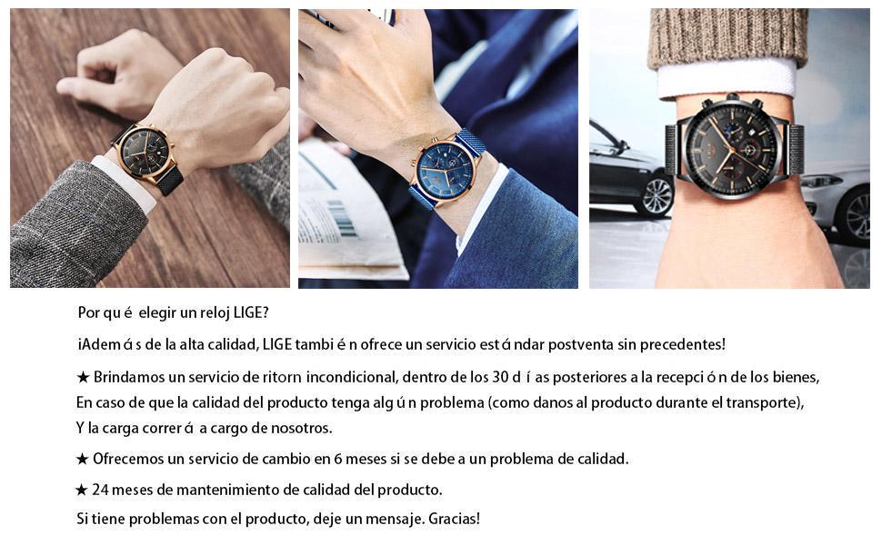 Analogicos Cuarzo Relojes
