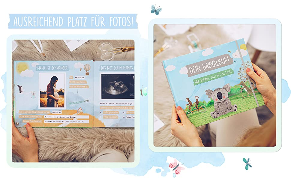 baby taufgeschenke von großeltern baby book mein babyalbum baby buch jahr erinnerung babybuch erstes