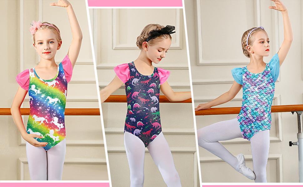 girls dance leotards