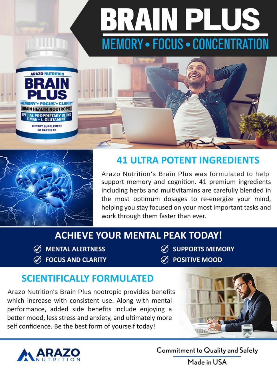 Brain Plus Brain Boost