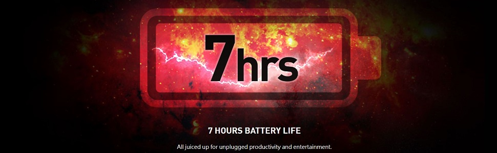7 Hour Battery Life