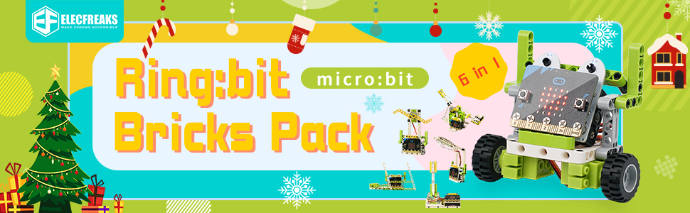 microbit bricks pack 6 in 1