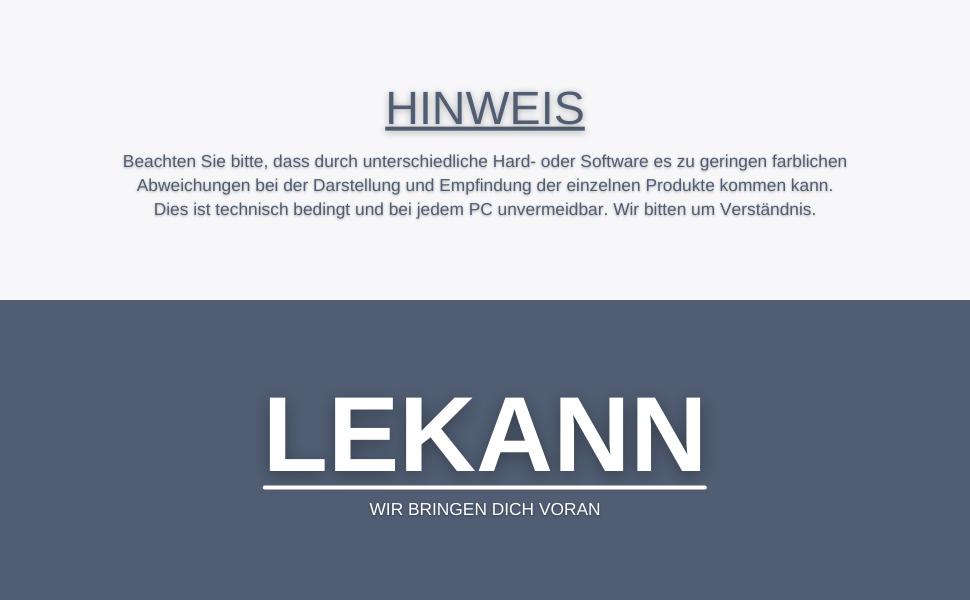 Descripción del logotipo lekann-lekann-indicación