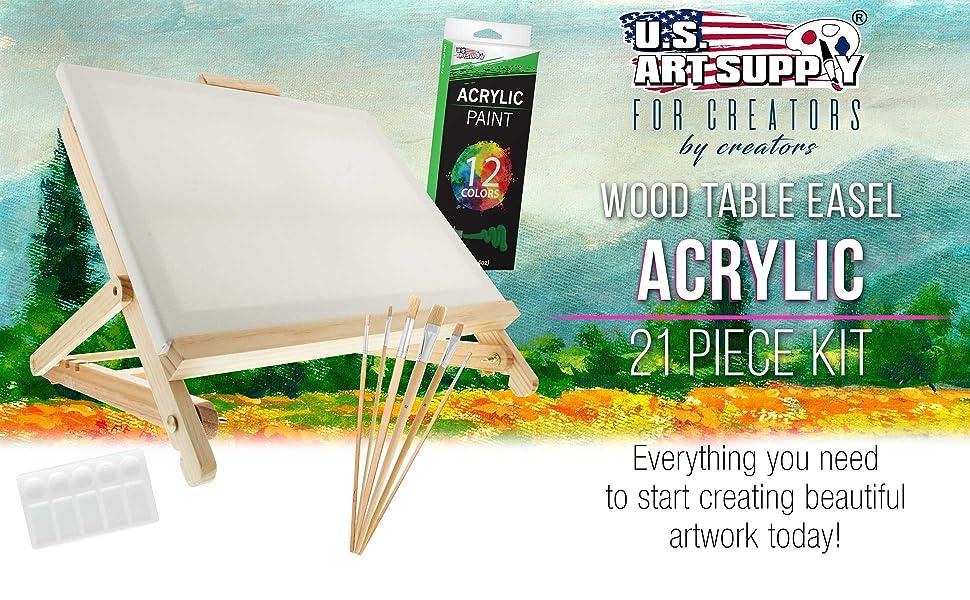USA PS-071 Acrylic Paint Set