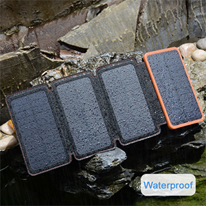waterproof solar charger