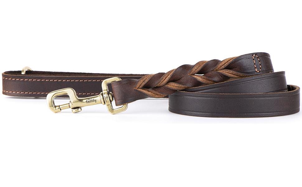 Ascot leash brown