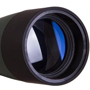 Levenhuk Blaze BASE 60 Spotting Scope: the fully coated optics made of high-quality BK-7 glass