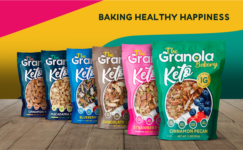 granola bakery keto nut crunch