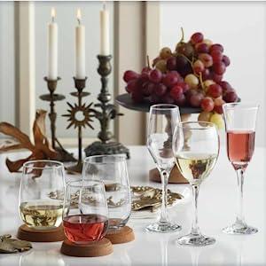 Wine Glsses Chardonnay Cabernet Crystal Clear Healthy
