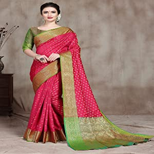 Pure kanjivaram Banarasi Silk Saree for women latest design