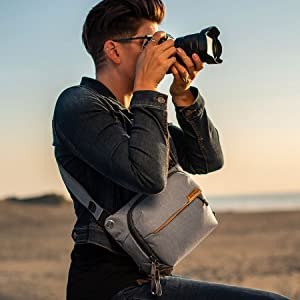 Single camera carry.