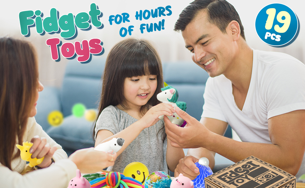 Stress Relief and Anti-Anxiety Finger Tools for Adults and Kids