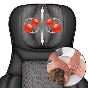 shiatsu neck massage pillow neck massager massage chair