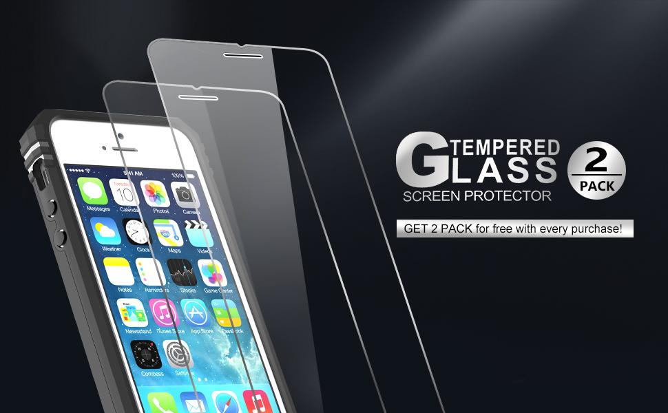 LeYi Coque pour Apple iPhone SE 2016, iPhone 5/5S Coque de téléphone avec protection d'écran Anneau Béquille Support pour homme Qualité militaire ...